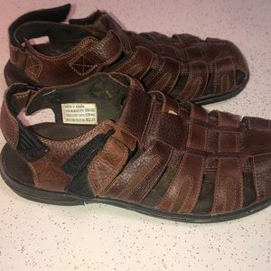 Earth Spirit men's sandals 10 1/2 leather